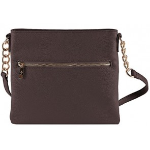 Chic Buds Crossbody - Chocolate