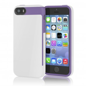 Incipio Faxion for iPhone 5/5S - White/Purple