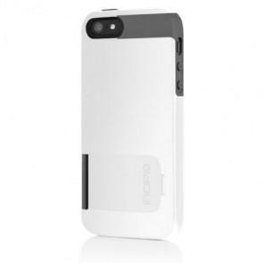 Incipio Kicksnap for iPhone 5/5S - Optical White / Charcoal Gray