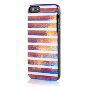 Incipio feather SHINE for iPhone 5/5s - Soverign Stripes