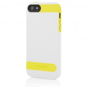 Incipio OVRMLD for iPhone 5/5s - Optical White/Canary Yellow