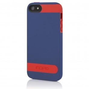 Incipio OVRMLD for iPhone 5/5s - Royal Blue / Firecracker Red