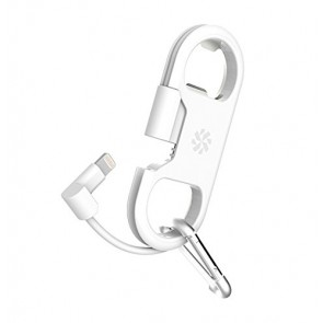 Kanex Charge and Sync Cable with Lightning + Bottle Opener - White