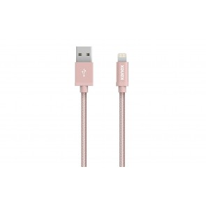 Kanex Premium Lightning to USB 4ft Braided Charge and Sync Cable - Rose Gold