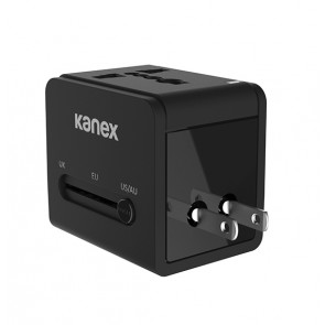 Kanex GoPower International Travel Adapter, 4-in-1 Compact Design