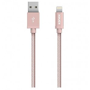 Kanex Charge & Sync Cable with Lightning Connector-6in/15cm (Rose Gold)