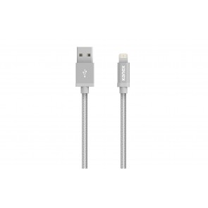 Kanex Charge & Sync Cable with Lightning Connector-6in/15cm (Silver)