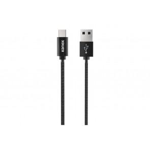 Kanex Durabraid Micro-USB Charge&Sync Cable - 1.2M / 4FT (Black)