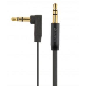 Kanex DuraBraid 3.5mm Stereo Audio Cable - 6 FT / 2M (Black)