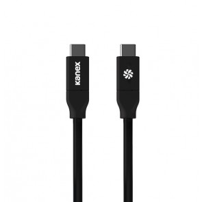 Kanex USB-C to C Certified Charging Cable 2M Black