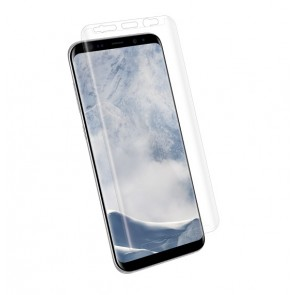Kanex EdgeGlass (TM) Edge-to-Edge Glass Screen Protector for Galaxy S8+ - Clear