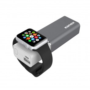 Kanex Go Power Watch Plus Portable Power for Apple Watch and iPhone, 5200 mAh battery pack