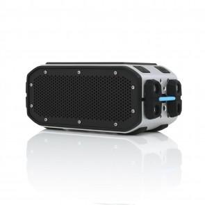 Braven BRV-Pro Portable Bluetooth Speaker - Silver/Cyan/Black