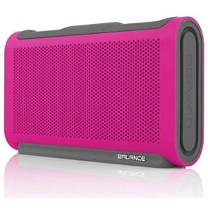 Braven Balance Portable Bluetooth Speaker - Raspberry Red/Gray/Gray