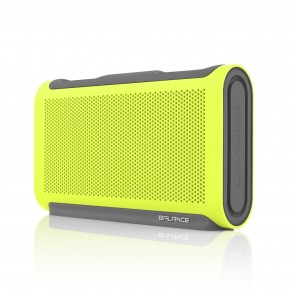 Braven Balance Portable Bluetooth Speaker - Electric Lime/Gray/Gray