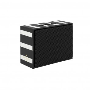 kate spade new york Portable Wireless Speaker - Black/Cream Stripe