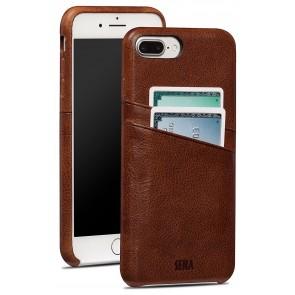 Sena Snap On Wallet Cognac iPhone 8/7 Plus
