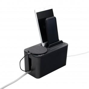 Bluelounge Cable Box Mini Station Black