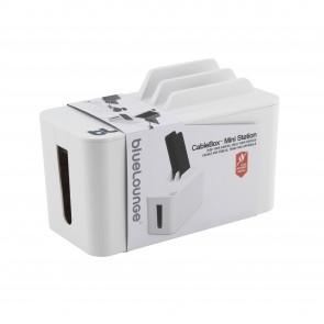 Bluelounge Cable Box Mini Station White