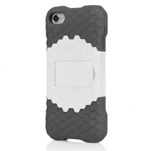 Incipio IP-432 HIVE Response Case for iPod touch 5G - Optical White/Charcoal Gray