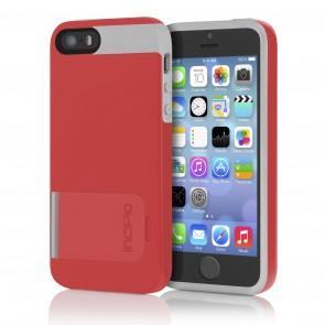 Incipio KICKSNAP for iPhone 5/5s - Red/Gray