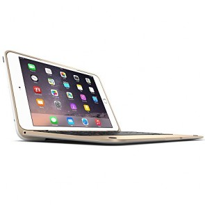 Incipio ClamCase Pro for iPad mini 1, 2, 3 - White Cover/Gold Aluminum