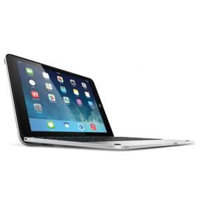 Incipio ClamCase Pro for iPad Air - White Cover/Silver Aluminum