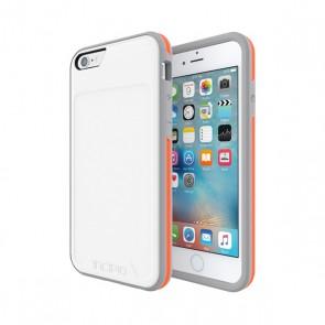 Incipio [Performance] Series Level3 Folio for iPhone 6/6s-White/Orange