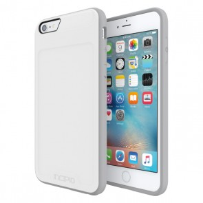 Incipio [Performance] Series Level 2 for iPhone 6/6s Plus - White/Light Gray