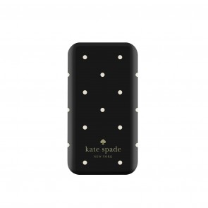 kate spade new york Universal Slim Charging Bank (1800mAh) -Larabee Dot Black/Cream