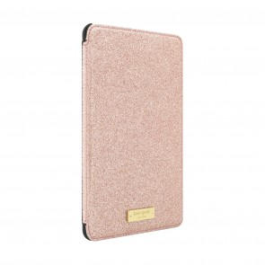 kate spade new york Folio Hardcase for iPad mini 4 - Rose Jade Glitter