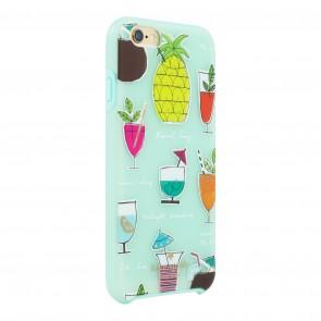 kate spade new york Hybrid Hardshell Case for iPhone 6/6s- Cocktail Recipe Blue/Multi
