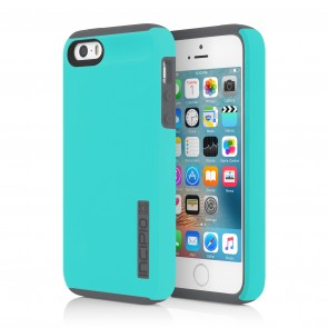 Incipio DualPro for iPhone 5/5s/SE -Turquoise/Charcoal