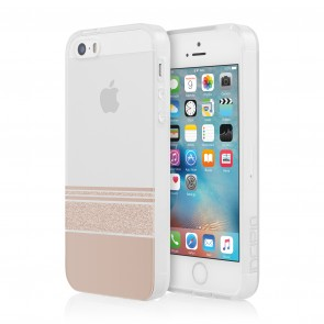 Incipio Design Series Wesley Stripes for iPhone 5/5s/SE -Rose Gold