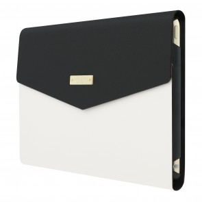 kate spade new york Color-Block Envelope Folio for iPad mini 4 - Black/Cement