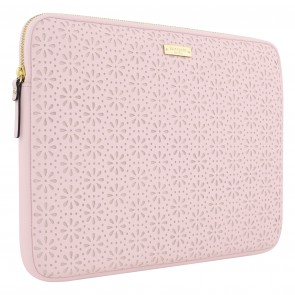 "kate spade new york Perforated Sleeve for 13"" MacBook - Rose Quartz"