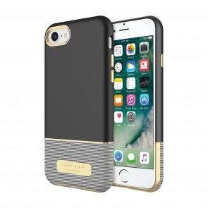 Sugar Paper Color-Block Case for iPhone 7 - Black/Stripe