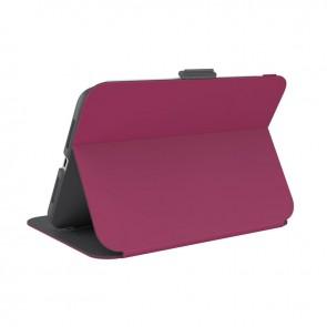 Speck iPad Mini 6th Gen Balance Folio (with Microban) - Verry Berry Red/Slate Grey