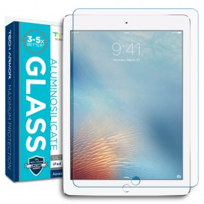 Tech Armor Corning Prime Glass for Apple iPad Air 1st/2nd Gen/ iPad 9.7 (2017) - 1-pack