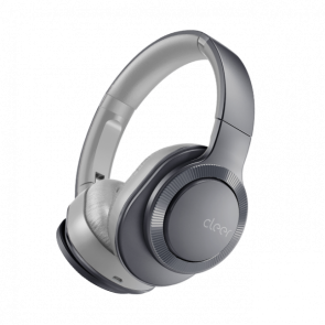 Cleer Audio FLOW II Wireless Hybrid Noise Cancelation Headphone with Google Assistant Gunmetal