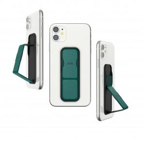 CLCKR Universal Grip&Stand Reflective GREEN