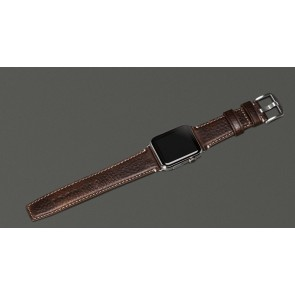 Sena Heritage Apple Watch 42mm Band Brown