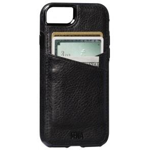 Sena Heritage Lugano Wallet Black iPhone 8/7