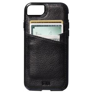 Sena Heritage Lugano Wallet Black iPhone 8/7 Plus