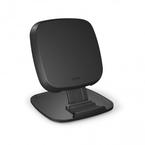 ZENS Fast Wireless Charger Stand / Base 10W Black