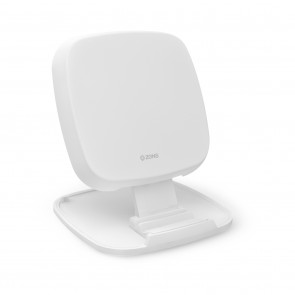 ZENS Fast Wireless Charger Stand / Base 10W White