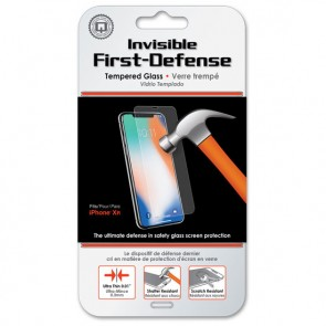 Qmadix Invisible First-Defense+ Tempered Glass iPhone XR