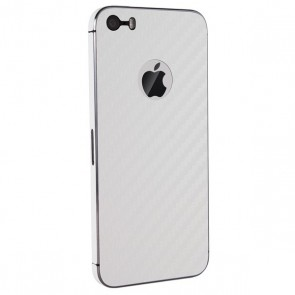 BodyGuardz Armor Carbon Fiber Full Body (White) iPhone 5