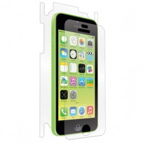 BodyGuardz UltraTough Clear Skins Full Body Apple iPhone 5C, case friendly