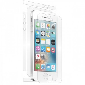 BodyGuardz UltraTough Clear Skins Full Body Apple iPhone 5, case friendly